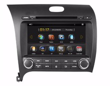 HD 2 din 8″ Car DVD GPS Navigation for Kia CERATO K3 FORTE 2013 2014 With Bluetooth IPOD TV Radio /RDS SWC AUX IN USB