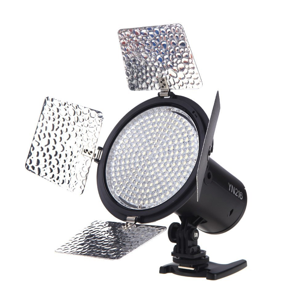 Yongnuo YN216 Pro LED Studio Video Light for Canon Nikon Sony Camcorder DSLR LF463 2018 yongnuo yn320 photo studio led panel video light with stand holder high brightness video light for canon nikon dslr camera