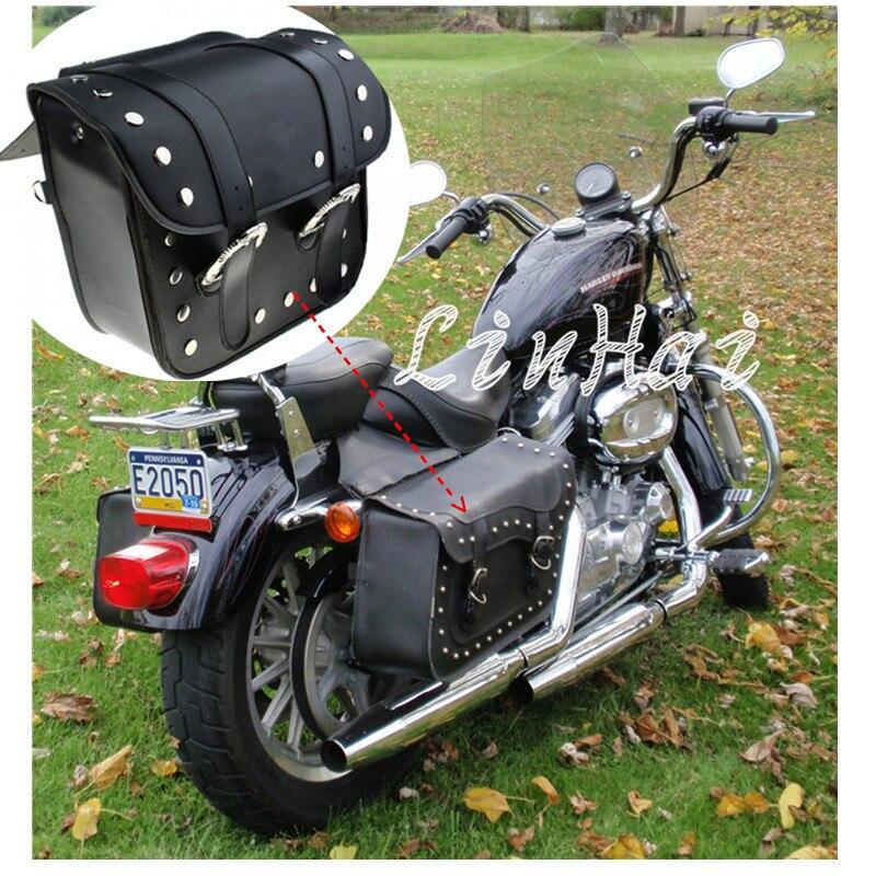 Prix pour Nouveau moto sacoches sacoches pochette Fit pour Harley
