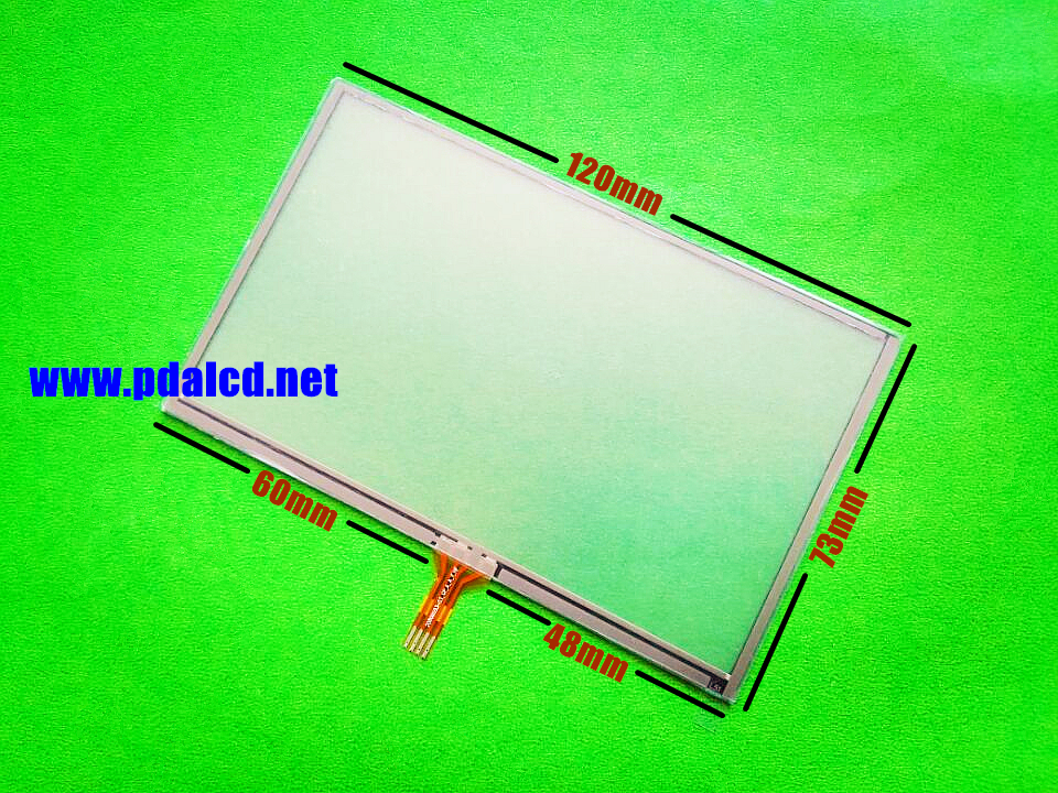 Skylarpu New 5-inch Touch Screen For GARMIN Nuvi 2597 2597T 2597LT GPS Touch Screen Digitizer Panel  120mm*73mm Free Shipping