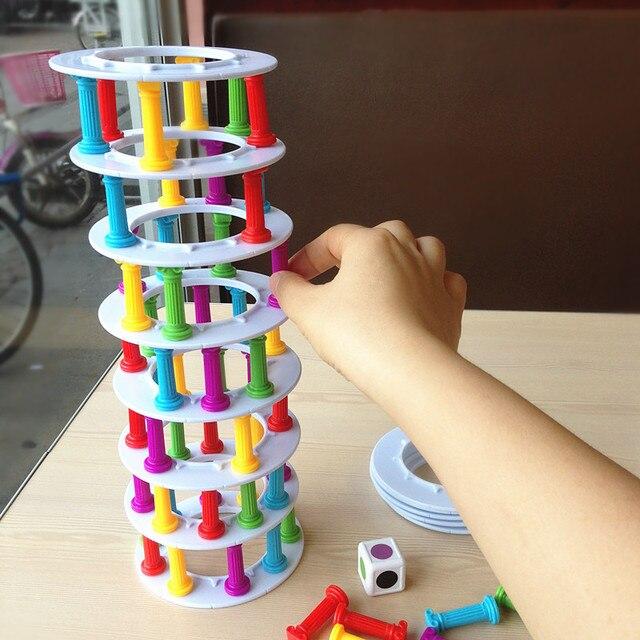 Unidades 1 Juego Torre Colapso Juegos De Mesa Para Ninos Columna