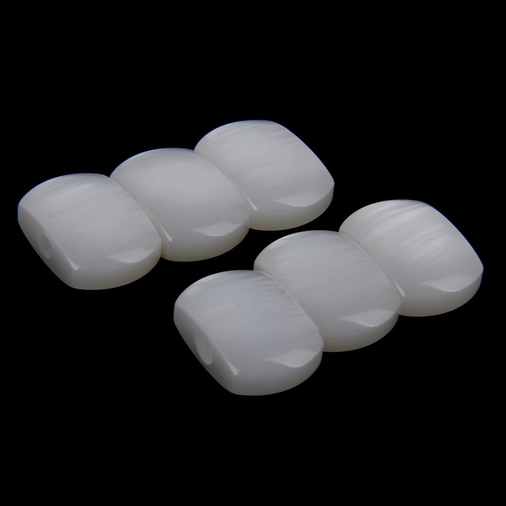Wholesale 3PCS -Acrylic Guitar Tuner Buttons Machine Heads 6pcs white