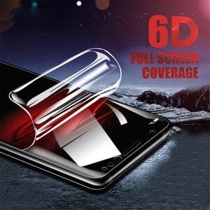 Image 1 - Soft Volledige Cover Hydrogel Film Voor Xiaomi Mi A2 Lite Play Beschermende Film Mi Pocophone F1 Telefoon Screen Protector Niet Glas