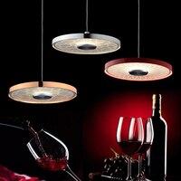 Modern minimalist LED bar restaurant chandelier personalized creative art bar chandelier Nordic modern lighting fixture lamps