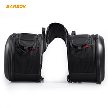 58L Waterproof Motorcycle Saddlebag Universal Moto Riding Knight Helmet Bag Tail Luggage Suitcase Tank Backpack for Racing