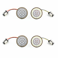 2″ LED Turn Signal Kit for Harley Davidson Front 1157 and Rear 1157 turn signals harley Softail, Dyna, Sportster, TriGlide 16-17