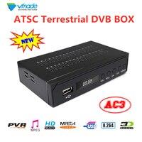Vmade ATSC Terrestrial receiver DVB TV BOX ATSC TV TUNER support PVR EPG Dolby For USA/Mexico/Canada/South Korea set top boxes