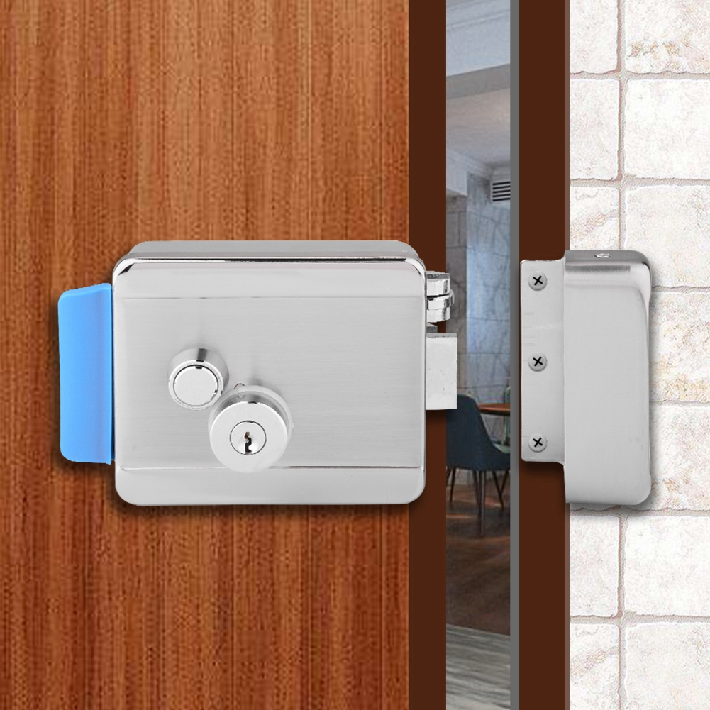 Access Control Electronic Door Lock For Video Door Phone Doorbell Home Security For Metal Fire Door