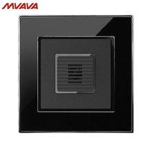 MVAVA Voice Light Control 45S Delay Timer Switch Sound & Light Control/Motion Sensor Time-Delay Mirror Black Panel Free Shipping