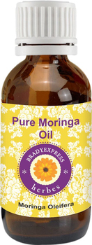 FRee Shipping Pure Moringa Oil (moringa oleifera) Cold Pressed 100% Natural Therapeutic Grade  5ML