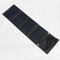 18V 5V 16W Portable Folding Solar Charger For Iphone 12V Battery Charger Solar Panel Charger External