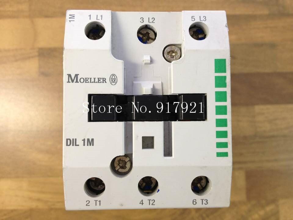 [ZOB] The original MOELLER DIL 1M DC contactor DC24V Muller  --2pcs/lot new lp2k series contactor lp2k06015 lp2k06015md lp2 k06015md 220v dc