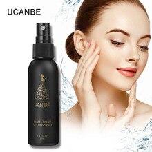 50ml Makeup Setting Spray Moisturizing Foundation Fixer Matte Finish Natural Cosmetic Oil-control Long Lasting Face Base Make Up