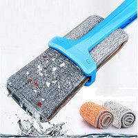 Household Flat Mop/Easy to Clean/Using PP Material/durable/plus Thick Cloth Design/360 Degrees Can Be Rotated
