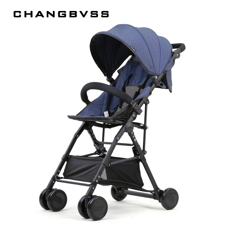 New High Landscape Baby Stroller Portable Folding Can Sit Super Light Baby Umbrella Carriage Travel Prams Kinderwagen carrinho 1 pc professional new light strong carbon fiber 4 4 cello bow nickel silver parts white horse hair double paris eye frog