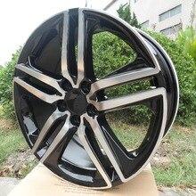 20x8,5 et 45 5x120 OEM Черная машина лицевой части сплава колесные диски W307 для вашего автомобиля