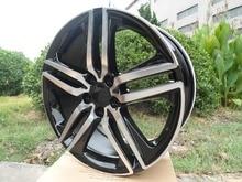 20x8.5 et 45 5x120 OEM Black Machine Face alloy wheel rims W307 for your car