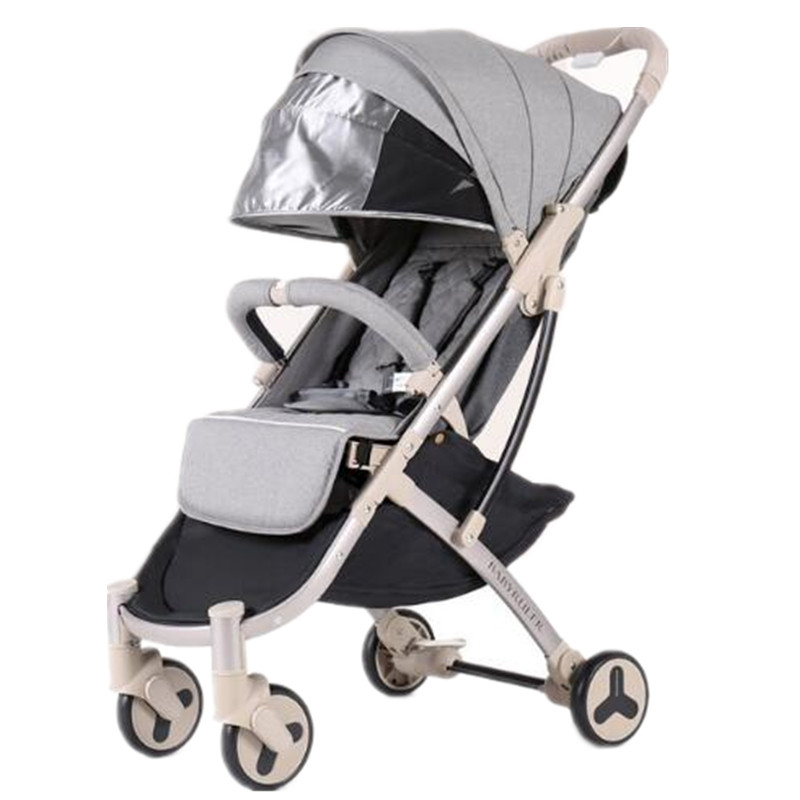 Baby Stroller 2 in 1 Foldable Portable Bebek Arabasi Travel pushchair Kinderwagen For Baby Poussette все цены
