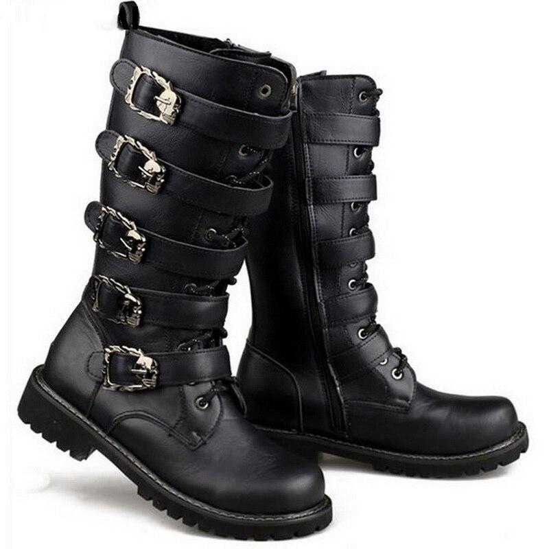 Online Get Cheap Mens Combat Boots Straps -Aliexpress.com ...