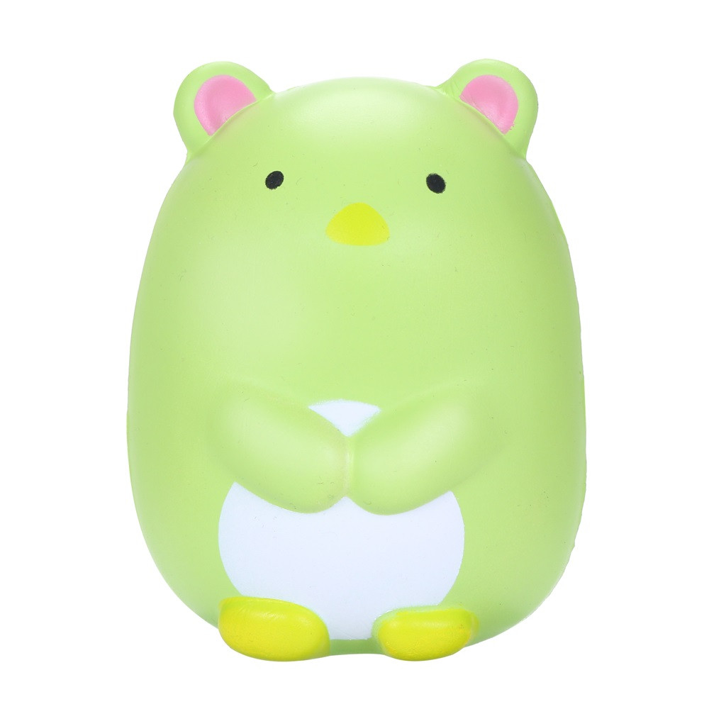 12cm Squish Toy Cartoon Polar Bear Stress Relief Toy Cream Scented Squishies Super Slow Rising Squeeze Toys Gifts A888 Wholesale Toys & Hobbies