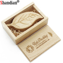SHANDIAN wooden Flash Drive Pen Drive 64GB 32GB 16GB 8GB 4GB USB