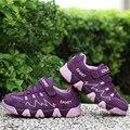Nuevos niños del resorte deporte shoes niño zapatillas de deporte de moda antideslizante sole walking shoes casual con cordones de zapato de otoño al aire libre zapatillas de deporte