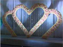 The new wedding background of the heart large wall decoration.