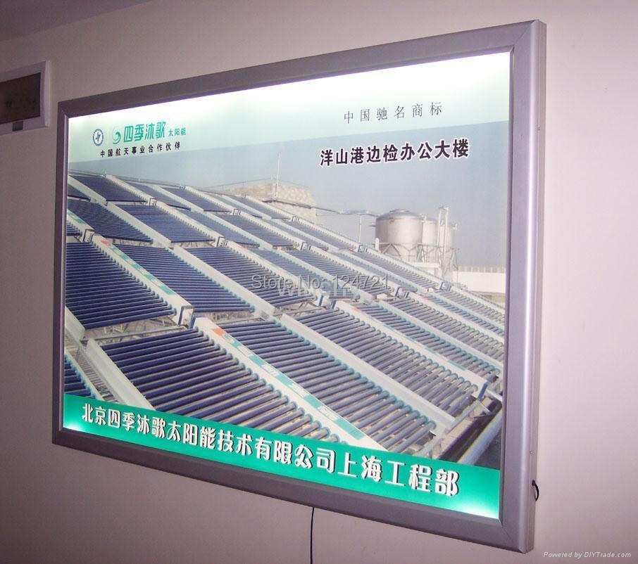 A0 Led Light Box Advertising Display Box Poster Frames