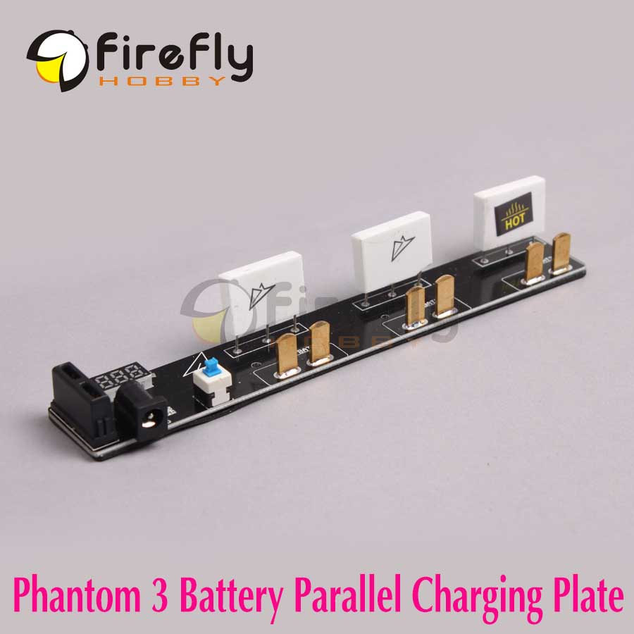 DJI Phantom 3 Accessory Multi Battery 3-Battery Parallel Charger Charging Board/ Plate