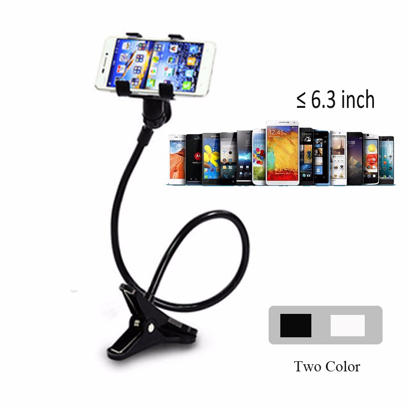 Universal 360 Rotating Flexible Long Arm Phone holder Stand Flexible Clamp Lazy Bed Tablet Car Selfie Mount Bracket For Phone