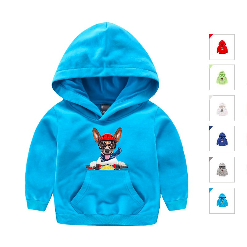 Children Clothes Girls Boys Casual Fashion Hoodies Sweatshirts Spring Autumn Outwear Full Sleeve with Character Printed for Kids 1