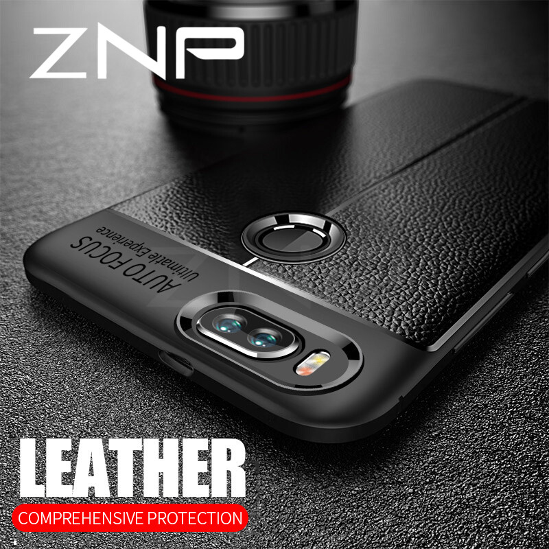 znp-shockproof-matte-cover-for-xiaomi-5s-5c-mi-6-5x-6x-leather-carbon-fiber-leather-phone-cases-for-mi-8-se-note-3-a1-a2-poco-font-b-f1-b-font