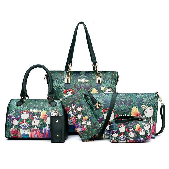 6pcs/lot Women Handbags...