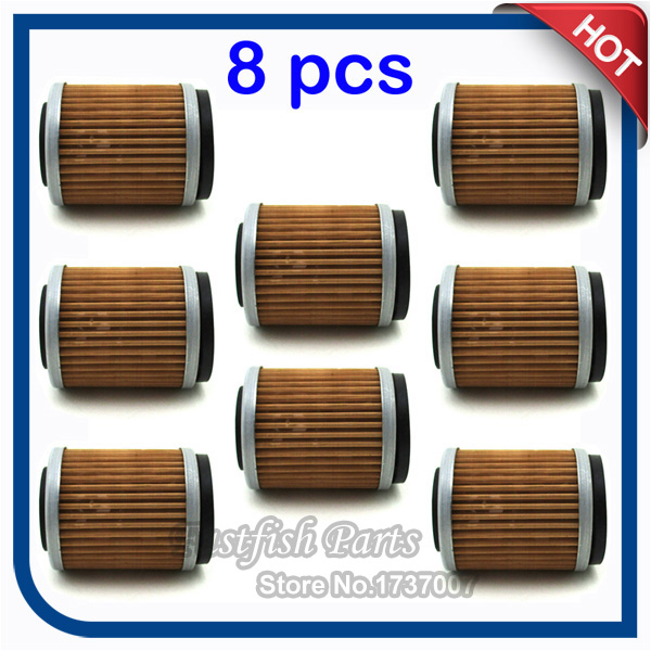 Yz426f Big Bore Kit Yz426f Yz426: 8pcs/pack Oil Filter For YZ426F YZ250F YZ400F TTR250