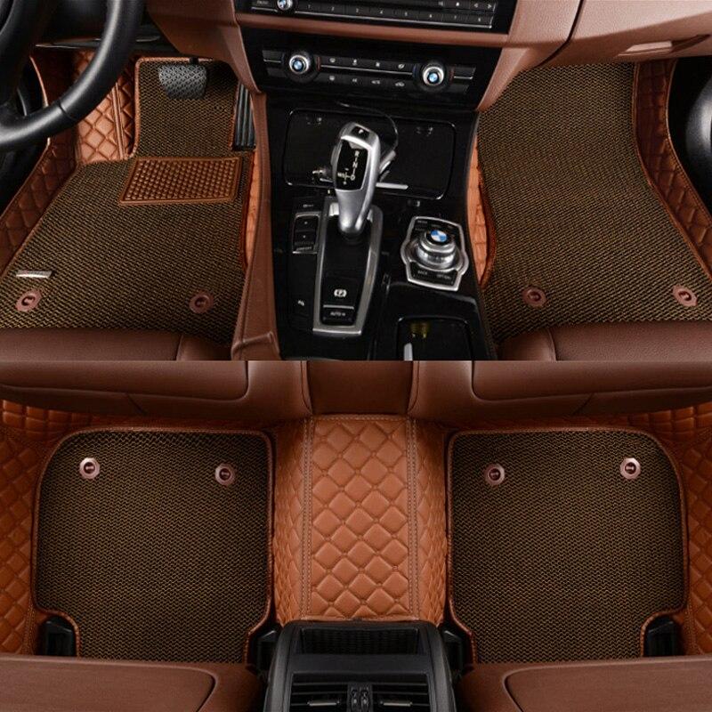 Weather Car Mats >> Custom fit car floor mats for Cadillac ATS CTS XTS SRX SLS Escalade 3D car styling all weather ...