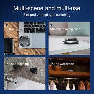 Image 4 - Baseus Car Air Freshener Car Phone Holder Solid Air Freshener Perfume Diffuser Luxury Air Purifier Aromatherapy Car fragrance