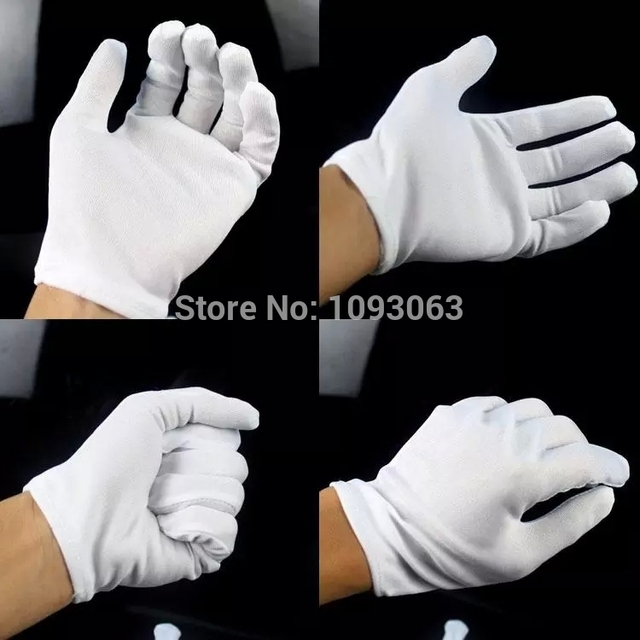 10 Pairs Hip hop Performance White Gloves Cotton Magician Costume Party Halloween Stylish  sc 1 st  AliExpress.com & 10 Pairs Hip hop Performance White Gloves Cotton Magician Costume ...