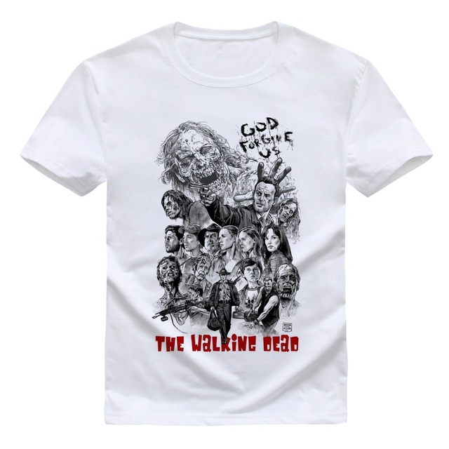 The Walking Dead Tops Summer Tees