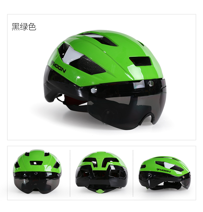 moon helmet Road bike mountain bike cycling helmet bicycle helmet unisex Cycling helmet parts Riding equipment цены
