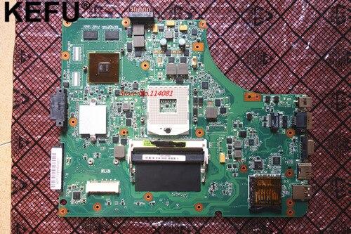 NEW, k53sv rev 2.3 / 3.0 / 2.1 / 3.1 suitable for asus X53S A53S K53SJ K53SC P53S K53SV GT520M notebook motherboard HM65 original k53sv motherboard mainboard rev 2 3 rev 3 0 rev 3 1 fit for asus k53s a53s x53s p53s notebook n12p gs a1 gt540m