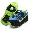 Sapatilhas Com Rodas Meninos Meninas De Patins Para Crianças Sapatos EU31-41 Jazzy Júnior Esportes Sapatos Sapatilhas Com Rodas Sapatos