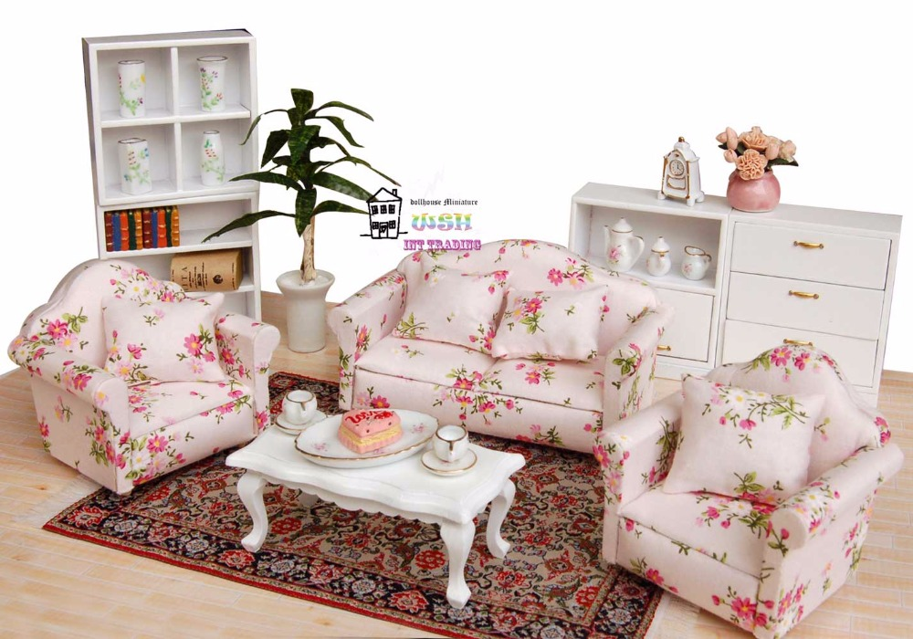 dollhouse living room furniture 5 24 quot dollhouse miniature 1 12 living room dolls furniture 13263