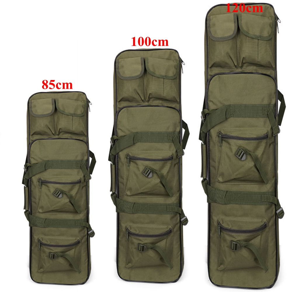 Airsoft Carbine Tactical Hunting Bag 85cm 100cm 120cm Paintball Military Shooting Gun Case Rifle Bag(China)
