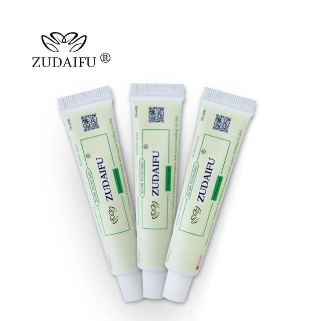 ZUDAIFU YIGANERJING Sulfur Soap Seborrhea Eczema Anti Fungus Soaps + Skin Conditions Acne Psoriasis Treatment ZUDAIFU Cream 5