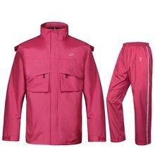 Pvc Rain Suit Pants Men Adult Female Overalls Raincoat Motorcycle Outdoor Waterproof Bicycle Erkek Kaban Mont 50yc115