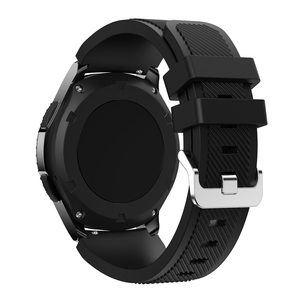 Image 2 - 22mm Wrist Strap For Samsung Galaxy Watch 3 45mm Silicone Watchband Bracelet Band For Huawei watch GT2 GT 46MM 42mm GT 2e 2 Pro