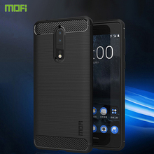 For Nokia 8 Case Cover MOFI Fitted TPU Cases High Quality Soft Back Phone