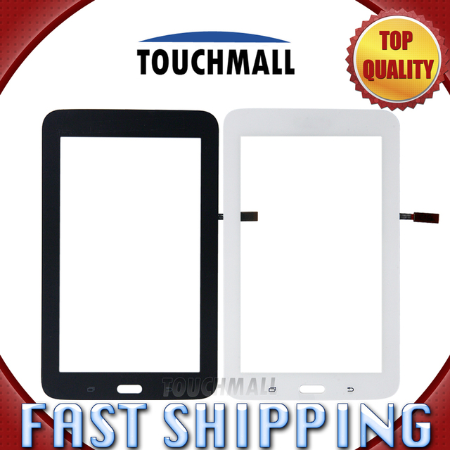 For New Touch Screen Digitizer Glass Replacement Samsung Galaxy Tab 3 Lite T113 SM-T113 Wifi Black White 7-inch Free Shipping