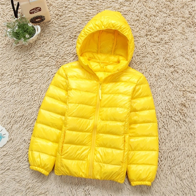 dc51e9c7d 2015 New Uniqlo Children Jacket Baby Thin Short Collar Hooded Jacket Bag  Mail FX-0594