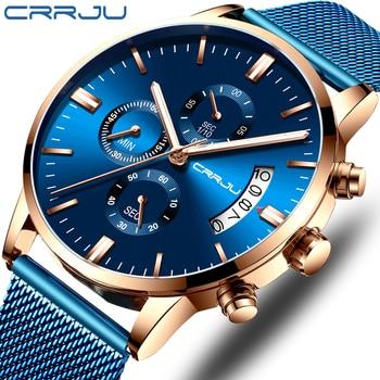 Relógio CRRJU Elegante Mostradores Casual